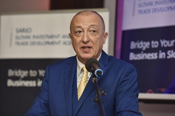 Generálny riaditeľ Slovenskej agentúry pre rozvoj investícií a obchodu (SARIO) Róbert Šimončič.
