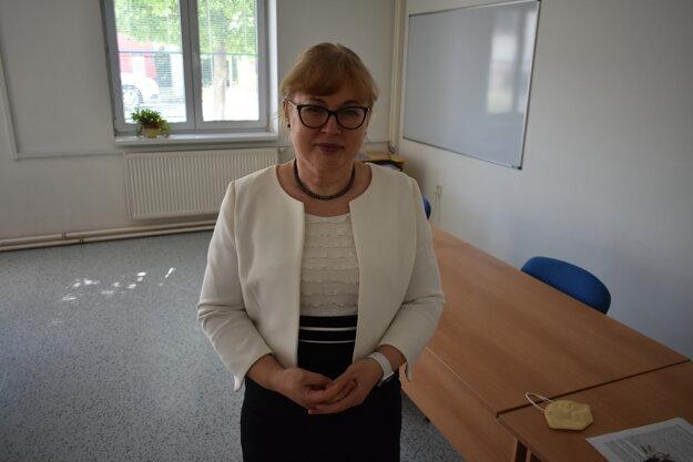 Šéfka trenčianskej hygieny Ľudmila Bučková.