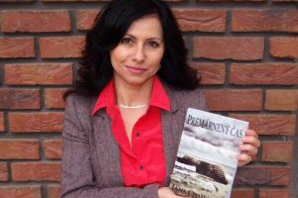 Jana Chmelová zo svojou novinkou.