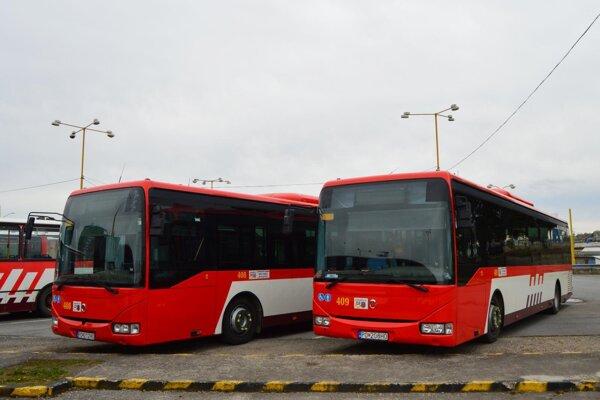 Vynovené autobusy.