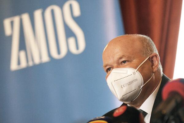 Predseda ZMOS-u Branislav Tréger.