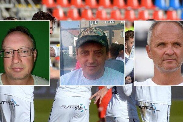 Futbalistom FC ViOn držia palce v play-off o pohárovú Európu aj klubové osobnosti Ján Kocian, Roman Greguška a Juraj Jarábek.