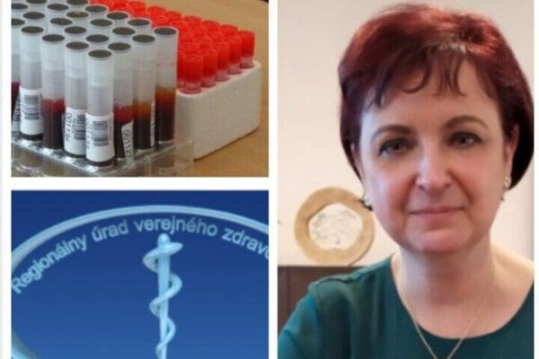 MUDr. Katarína Tináková, regionálny hygienička.