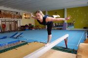Zuzana Bradovková najradšej cvičí na kladine. Je lektorkou cudzích jazykov.