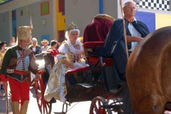 Rakúsko-uhorská panovníčka prišla do Mojmíroviec na koči.