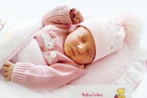 Katarína Cézová z Handlovej sa narodila 20. 5. 2021 v Bojniciach
