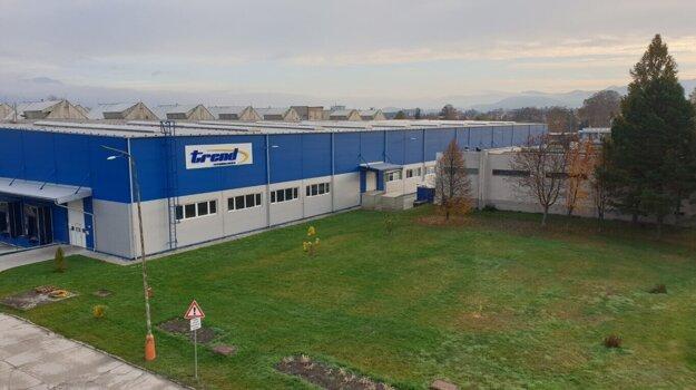 Trend Technologies Slovakia, s.r.o.,  súčasná hala.