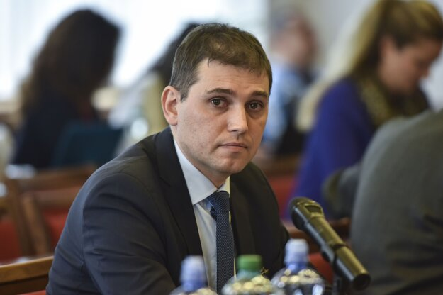 Riaditeľ Úradu inšpekčnej služby ministerstva vnútra Adrián Szabó.