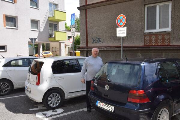 Jozef Dorušiak si myslí, že regulácia parkovania Štúrovej štvrti pomohla, hoci nie všetko je stopercentné.