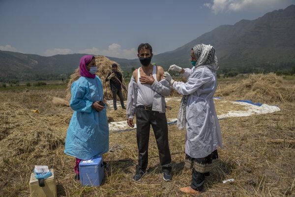 Očkovanie vo svete pokračuje SITA