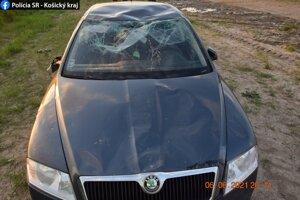 Polícia mužovi zadržala vodičský preukaz.