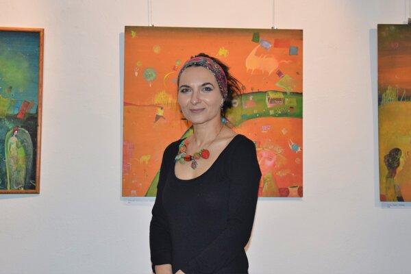 všestranná umelkyňa Jana Bialová z Lučenca otvára dokorán brány do sveta fantázie.