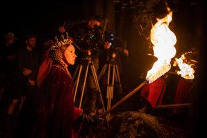 Táňa Pauhofová si úlohu zlej kráľovnej pochvaľuje.