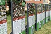 Označníky budú v siedmich lokalitách informovať obyvateľov o zámere mesta.