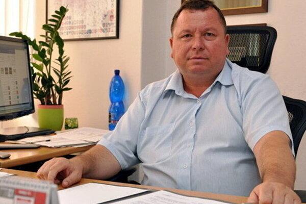 Obvinený exprimátor Sečoviec Jozef Gamrát.