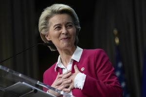 Šéfka Európskej komisieUrsula von der Leyenová.