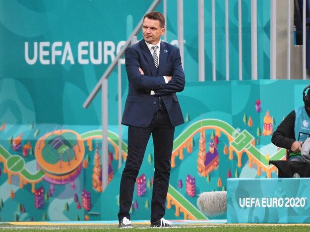 Štefan Tarkovič na ME vo futbale.