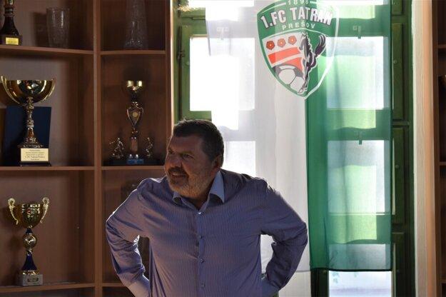Väčšinový akcionár futbalového klubu Miroslav Remeta.