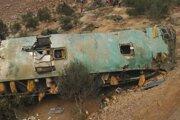 V Peru sú tragické nehody autobusov pomerne časté. Ilustračná fotografia.