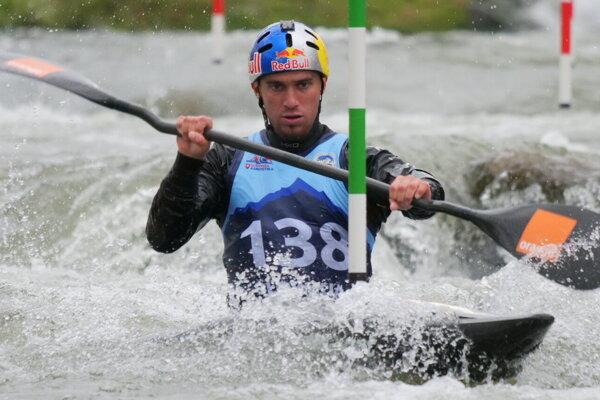 Víťaz druhého kola svetového pohára v nemeckom Marklebergu - Jakub Grigar