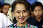 Zosadená civilná líderka krajiny Aun Schan Su Ťij