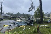 Tropická búrka Claudette tvrdo zasiahla Alabamu.