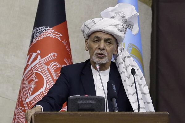 Afganský prezident Ašraf Ghaní.