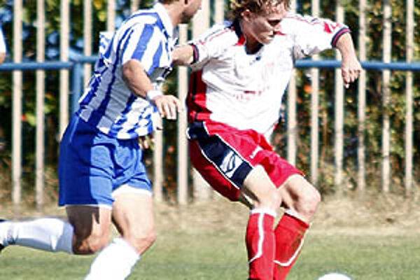 Útočník Vlčian Marián Cifra strelil za polčas štyri góly!