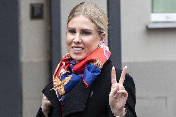Ruská opozičná aktivistka Ľubov Soboľová.