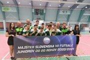 MŠK Mayerson Nové Zámky – juniorský majster Slovenska vsezóne 2020/2021.