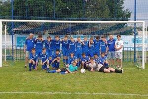 Žiaci U15 vyhrali druhú ligu.