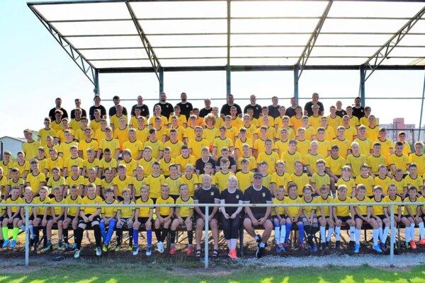 Klub Lokomotíva Trnava je známy najmä svojou silnou mládežníckou základňou.