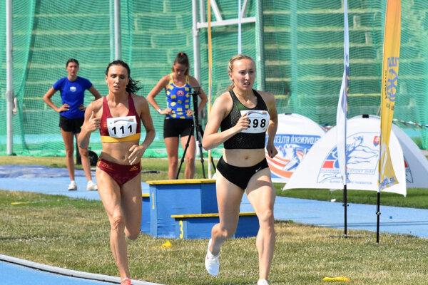 Gabriela Gajanová bola najrýchlejšia vbehu na 800 m.