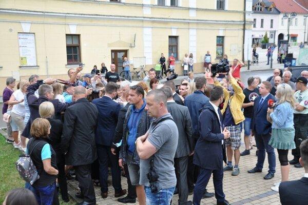 Stretnutie prezidentky s Dolnokubínčanmi.