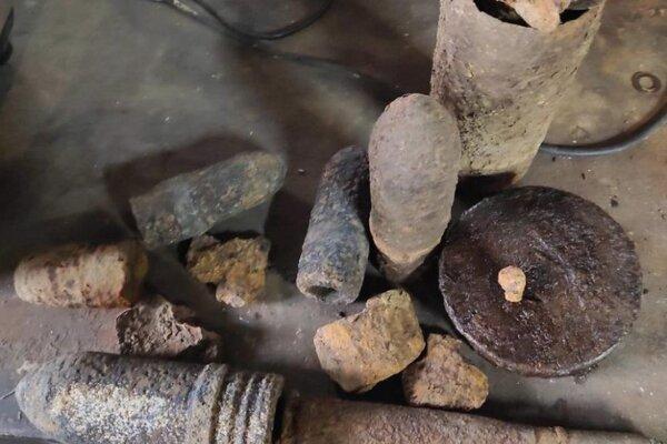Pyrotechnický prieskum odhalil množstvo munície.