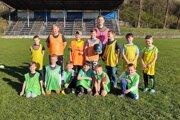 Najmladšie nádeje futbalu vo Svrčinovci.
