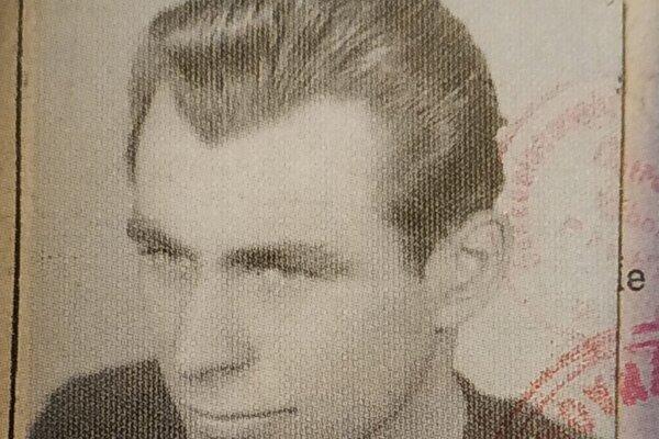 Fotografia zmladých čias Karola Prohásku.