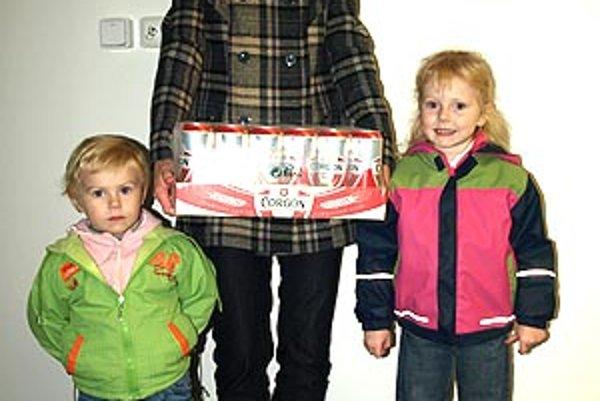 Pre pivo si prišla víťazka 13. kola Jana Pavelková. Prišla s dcérami Miriam a Dominikou, tipuje však manžel Peter.
