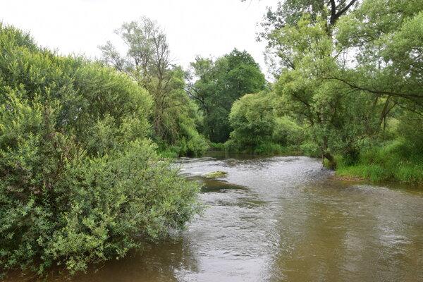 Rieka Turiec má rôzne podoby.