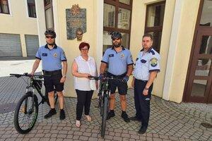 Mestská polícia využíva od 1. júla i bicykle.