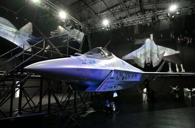 Suchoj predstavil nový model stíhacieho lietadla.