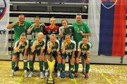 Prešovské futsalistky si na Majstrovstvách Slovenska v Piešťanoch vybojovali majstrovský titul.