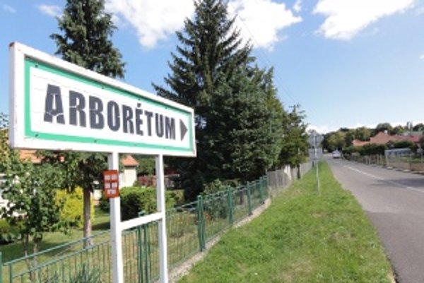 Známe Arborétum Mlyňany leží na území dvoch obcí.
