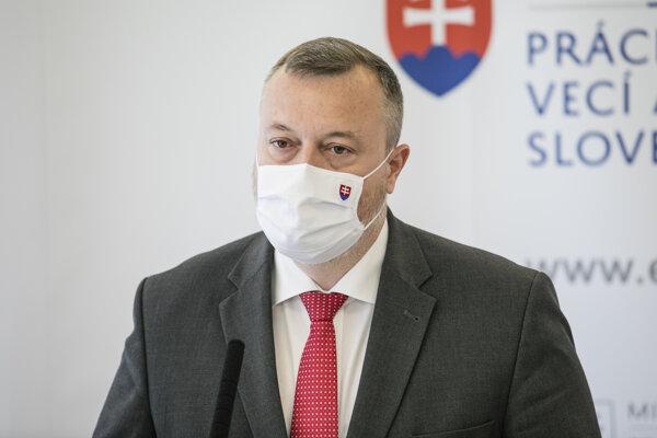 Minister práce Milan Krajniak.