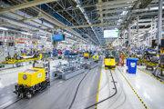 Výrobné linky bratislavského Volkswagenu sa zastavia.