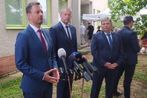 Premiér na návšteve bojnickej nemocnice.