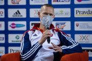 Slovenský atlét Matej Tóth.