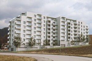 Developer chce stavať osempodlažný bytový dom so 77 bytmi za približne sedem miliónov eur na Bystrickej ceste, za predajňou Lidl.
