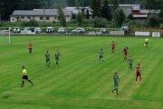 Zo zápasu 1.FK Svidník-1.FC Tatran Prešov