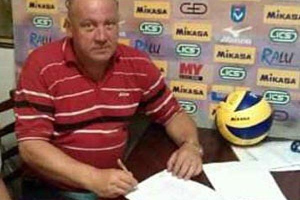 Daniel Oravec je novým trénerom volejbalistov Nitry. Zmluva znie na dva roky.